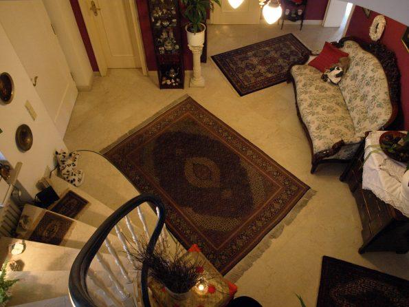 Haus de Paoli - Blick auf das Foyer von oben