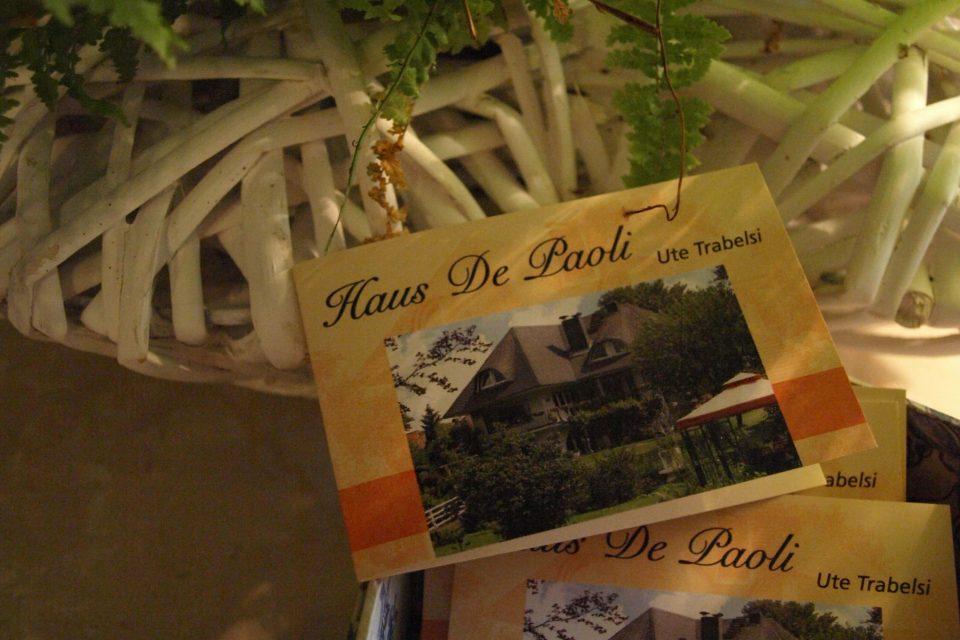 Haus de Paoli - Visitenkarte