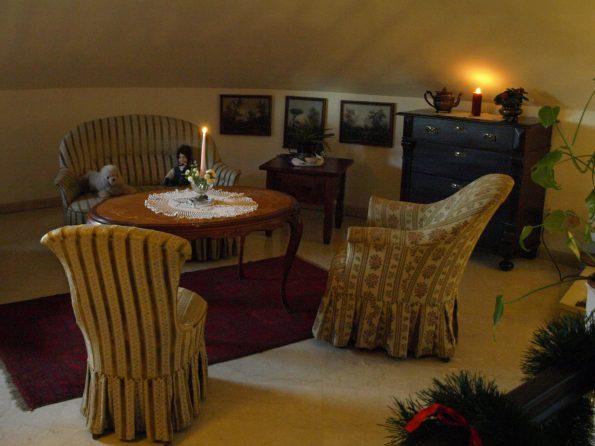 Haus de Paoli - Lounge oben