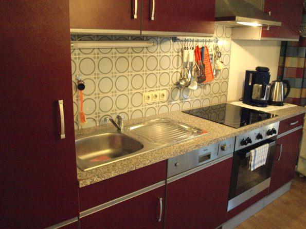 Haus de Paoli - Ferienwohnung - Küchenzeile
