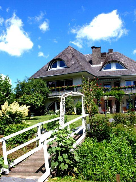 Haus de Paoli - Blick vom Garten