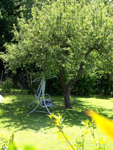 Haus de Paoli - Hollywood-Schaukel im Schatten des Baumes